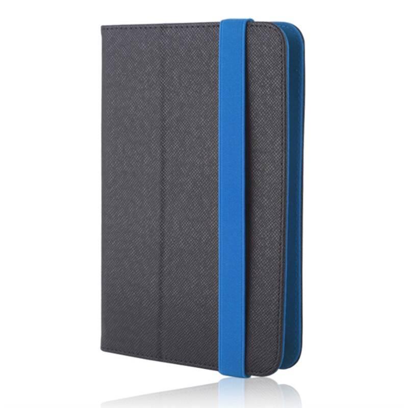 """Púzdro na tablet flipové GreenGo Orbi na tablet 9-10"""" (LCSUNI910OBIBL) čierne/modré"""