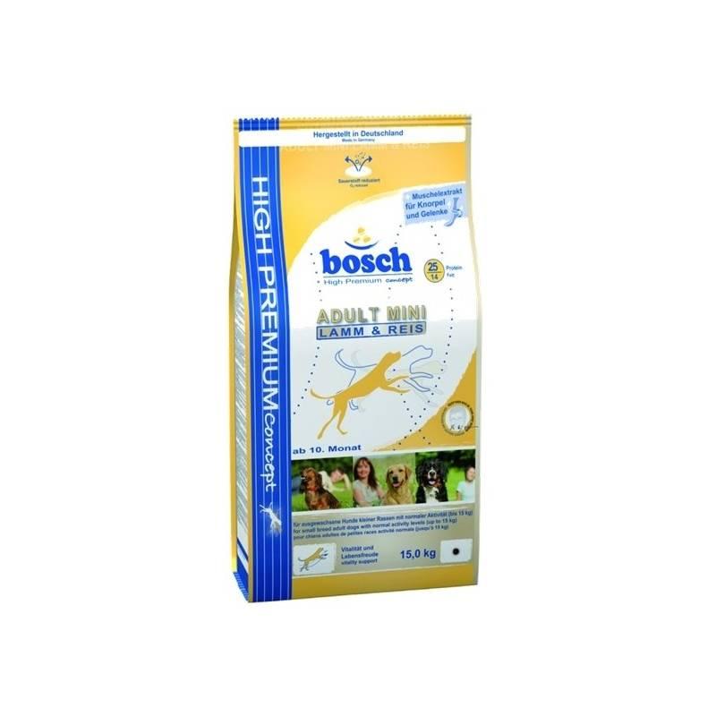 Granuly Bosch Adult mini lamb & rice 3 kg
