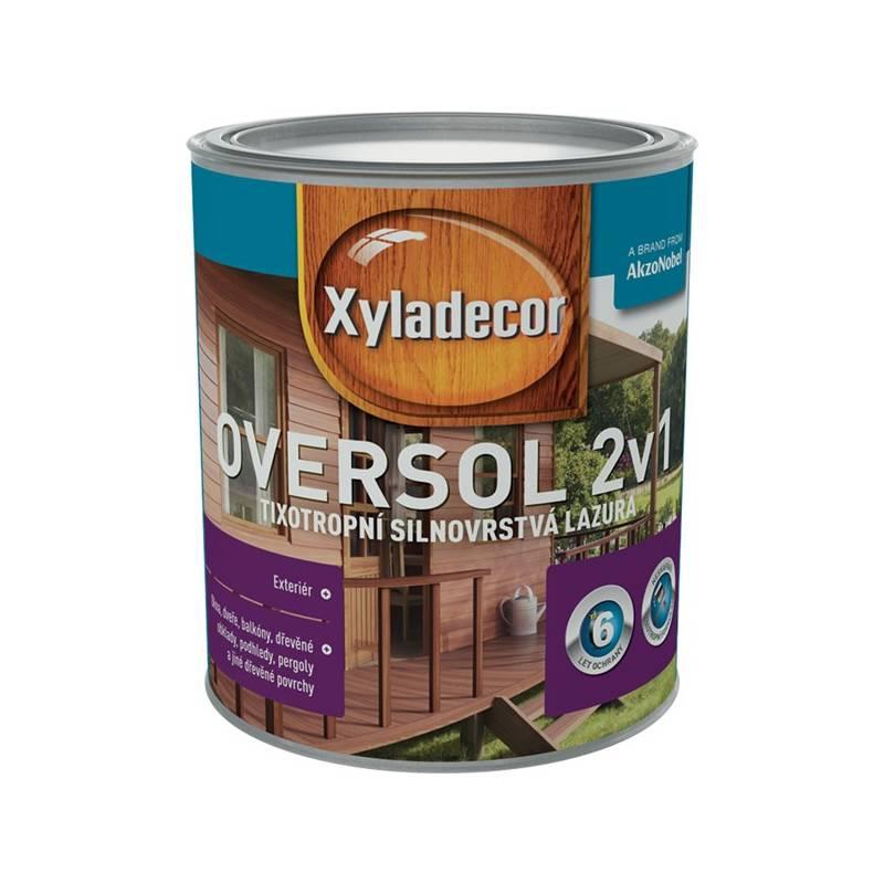Lazúra na drevo Xyladecor Oversol 2v1 vlašský ořech, 0,75