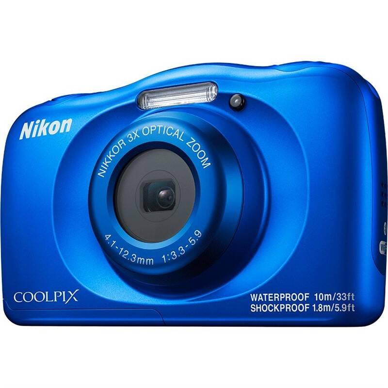 Digitálny fotoaparát Nikon Coolpix W150 BACKPACK KIT modrý + Doprava zadarmo