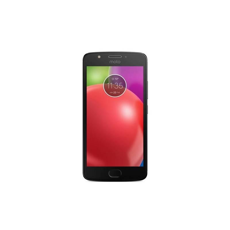 Mobilný telefón Motorola E4, dual SIM, Metallic Iron Gray (Moto E4 METALLIC IRON GRA) sivý