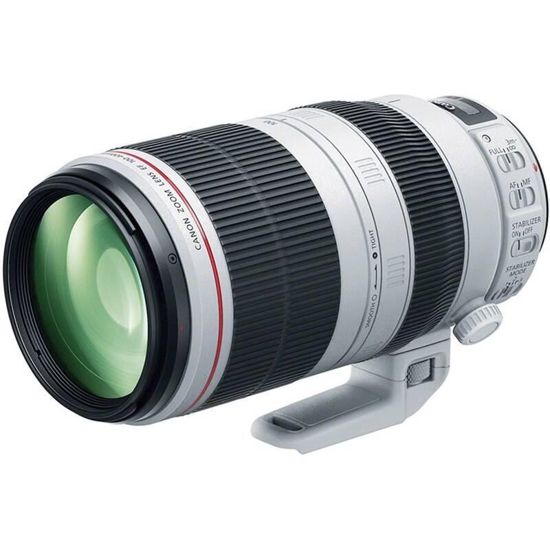 Objektív Canon EF 100-400mm f/4.5-5.6L IS II USM (9524B005) sivý + Doprava zadarmo