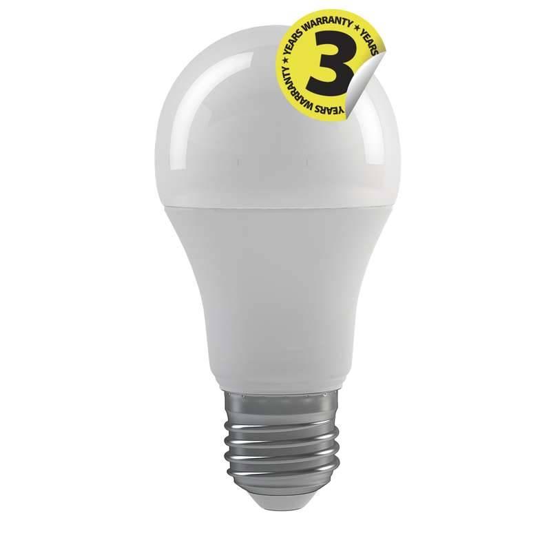 LED žiarovka EMOS klasik, 9W, E27, neutrální bílá (1525733401)