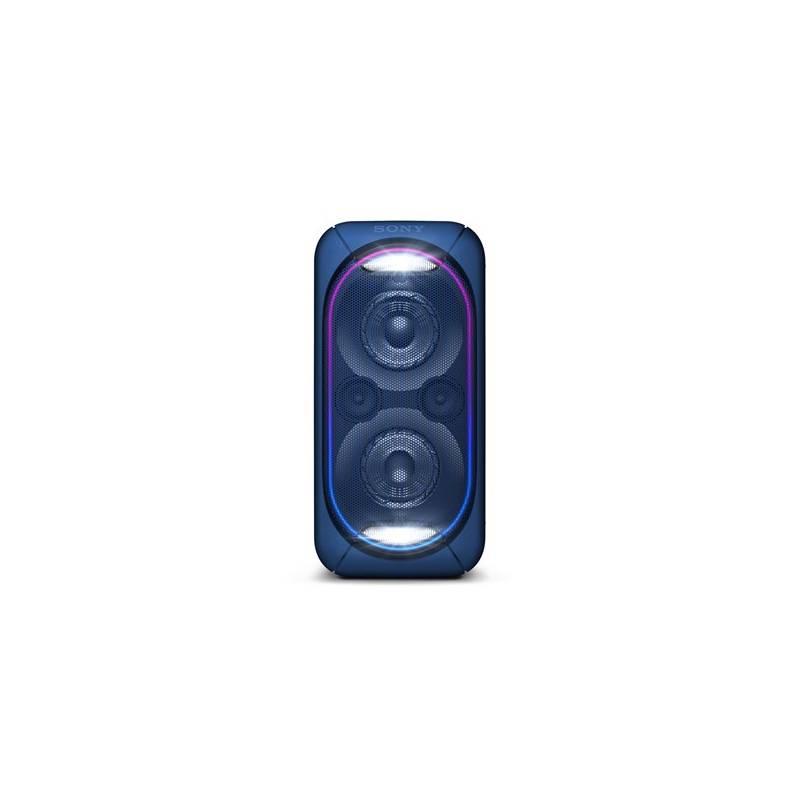 Párty reproduktor Sony GTK-XB60L modrý + Doprava zadarmo