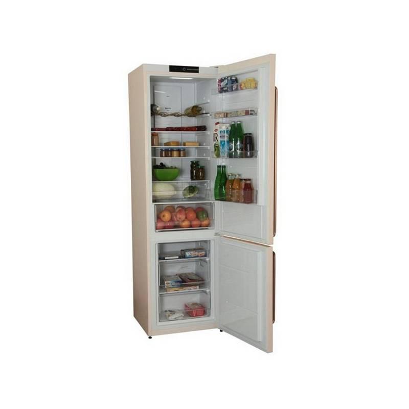Kombinácia chladničky s mrazničkou Gorenje NRK621CLI béžová + Extra zľava 10 % | kód 10HOR2020 + Doprava zadarmo