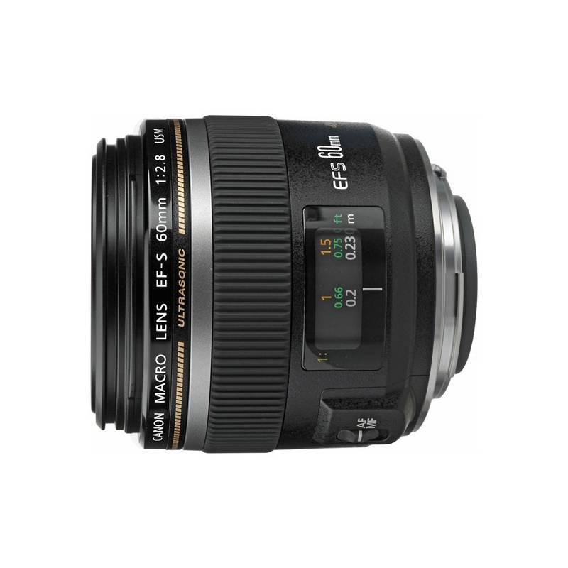 Objektív Canon 60mm f2.8 Macro USM Macro (0284B013AA) čierny