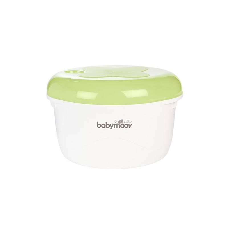 Sterilizátor Babymoov do mikrovlnné trouby biely/zelený