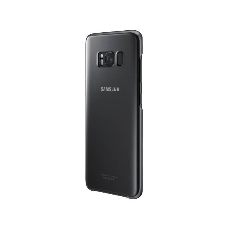 Kryt na mobil Samsung Clear Cover pro Galaxy S8+ (EF-QG955CBEGWW) čierny