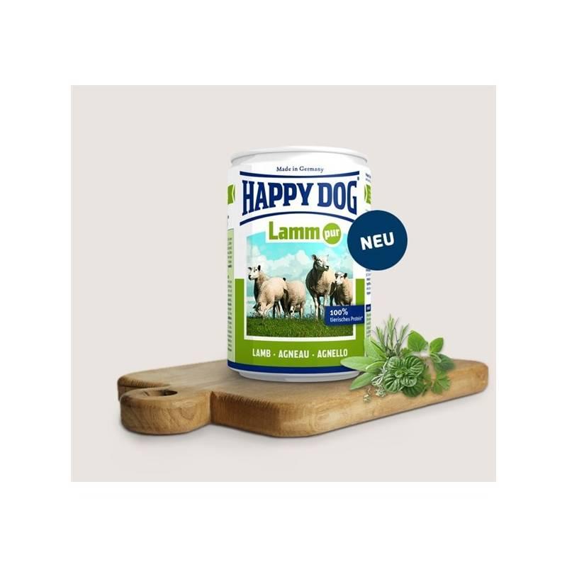 Konzerva HAPPY DOG Lamm Pur - 100% jehněčí maso 400 g