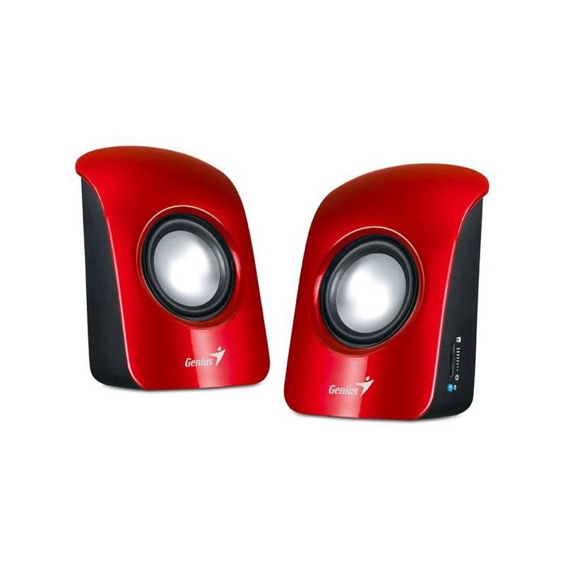 Reproduktory Genius SP-U115 2.0 (31731006101) červené