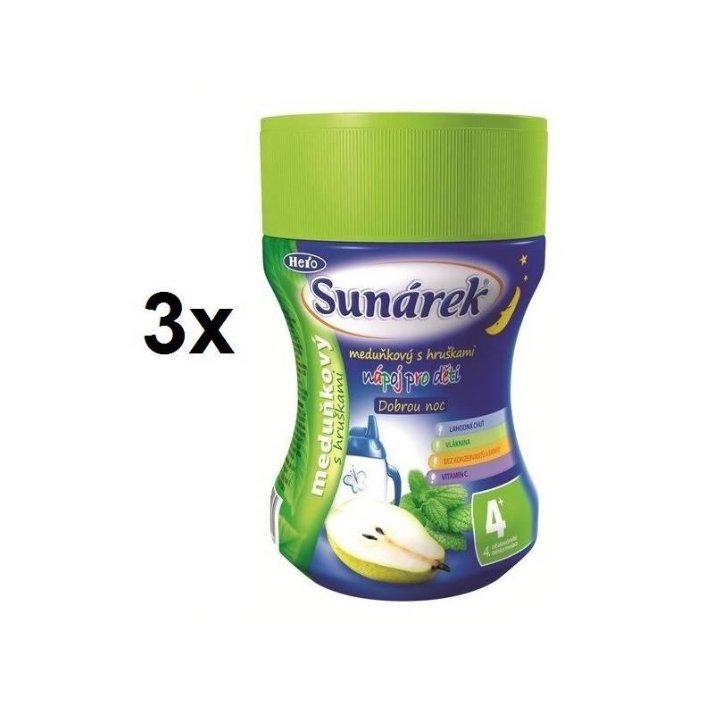Instantný nápoj Sunárek Dobrou noc meduňka, 200g x 3ks