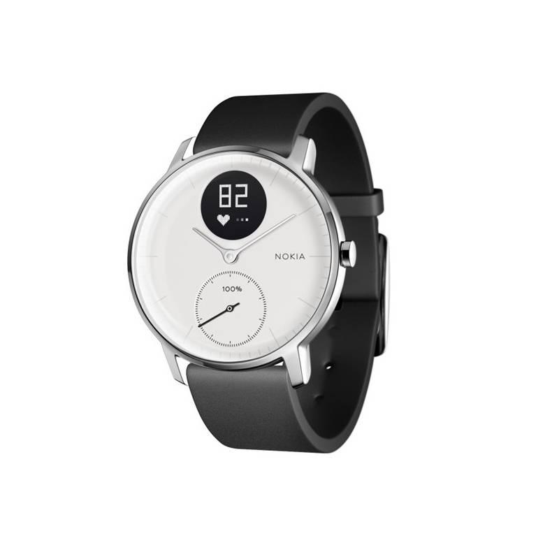 75c7bfb98 Chytré hodinky Nokia Steel HR (36mm) (HWA03-36white-All-Inter) bílé ...