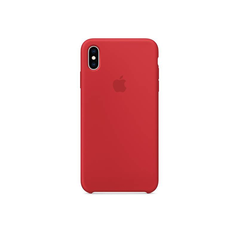 Kryt na mobil Apple Silicone Case pro iPhone Xs - (PRODUCT)RED (MRWC2ZM 30135be78fb