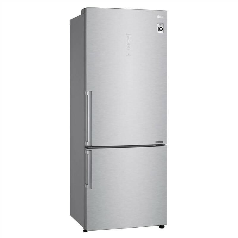 Chladnička s mrazničkou LG GBB569NSAFB + LG 10 let záruka na Lineární kompresor