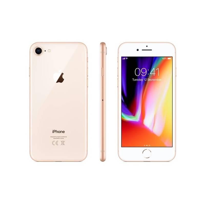 Mobilný telefón Apple iPhone 8 256 GB - Gold (MQ7E2CN/A) + Doprava zadarmo