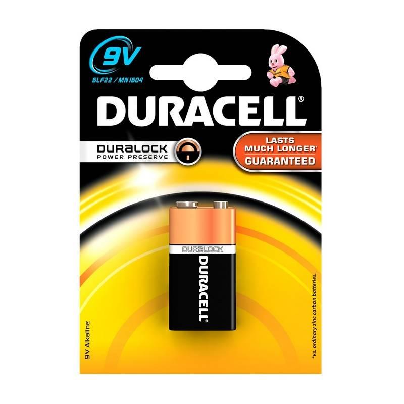 Batéria alkalická Duracell BASIC 9V 1604 K1