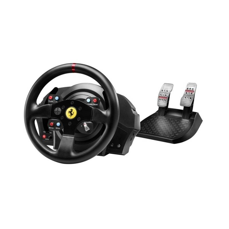 Volant Thrustmaster T300 Ferrari GTE pro PS3, PS4, PC + pedály (4160609) čierny