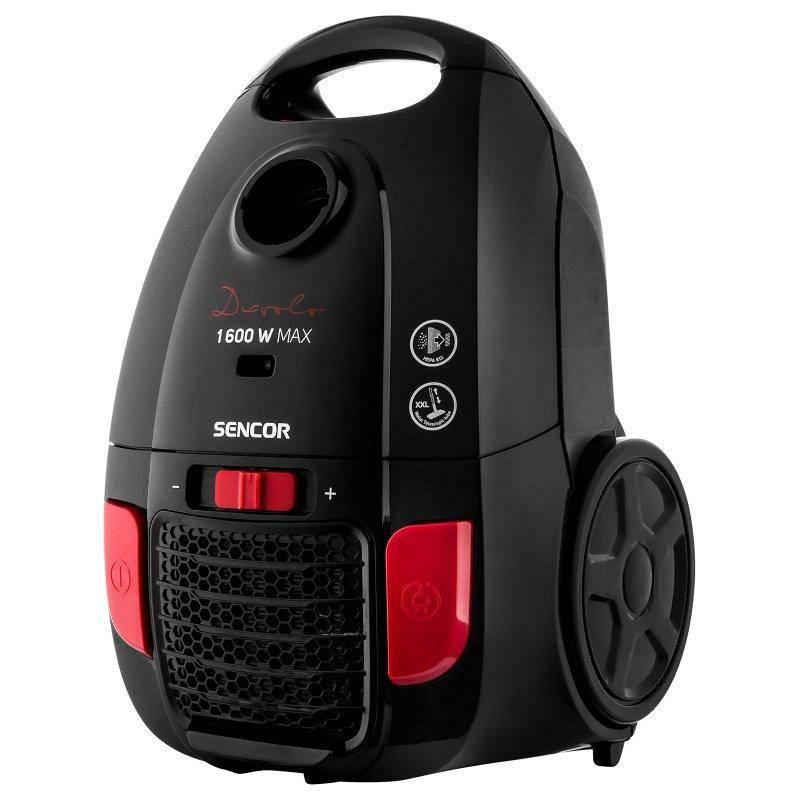Vysávač podlahový Sencor SVC 6000BK (444210)