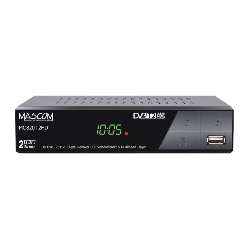 Set-top box Mascom MC820T2 HD