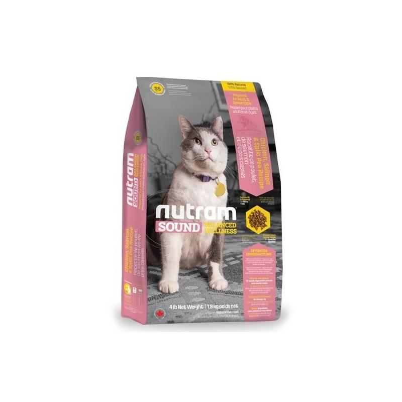 Granule NUTRAM Sound Adult Cat 6,8 kg