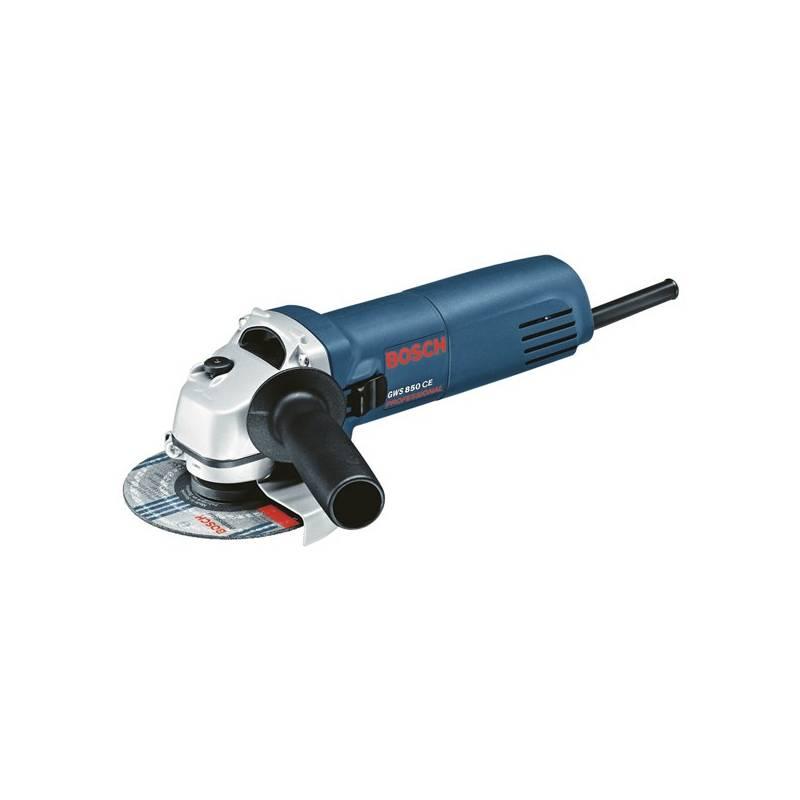Uhlová brúska Bosch GWS 850 CE, 0601378793