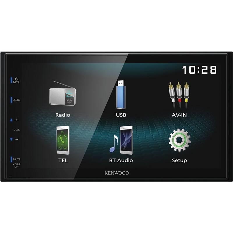 Autorádio s LCD KENWOOD DMX-120BT, 2DIN čierne + Doprava zadarmo