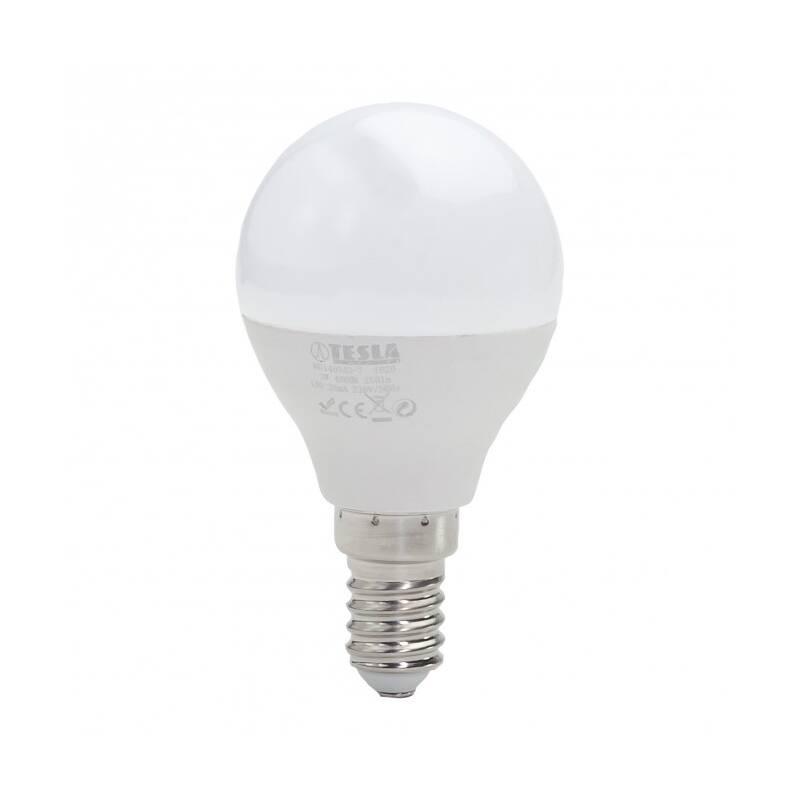 LED žiarovka Tesla klasik mini, 3W, E14, neutrální bílá (MG140340-7)