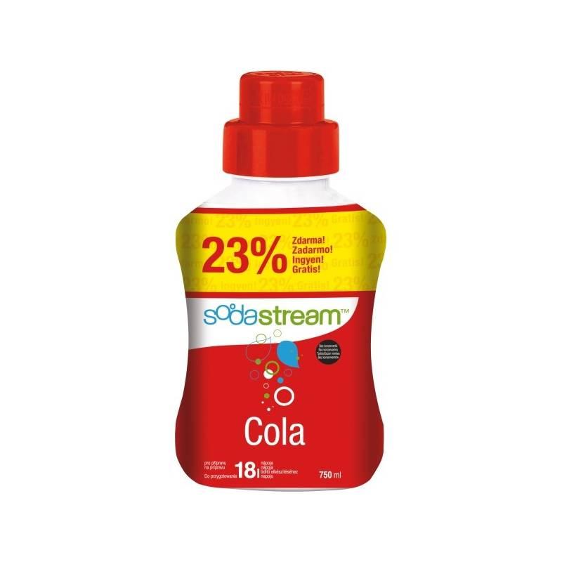 Príchuť pro šumivú vodu SodaStream Cola velký 750 ml