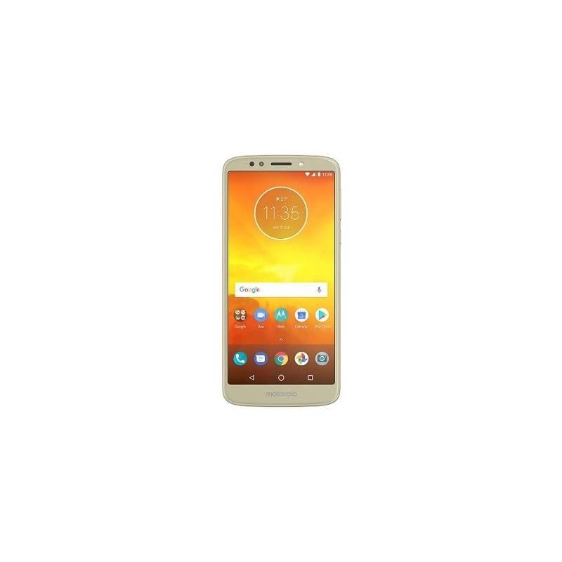 Mobilný telefón Motorola E5 Dual SIM (PACG0021RO) zlatý Software F-Secure SAFE, 3 zařízení / 6 měsíců (zdarma)