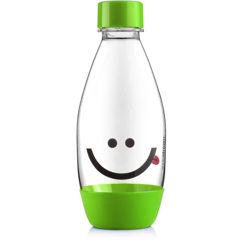Láhev SodaStream Smajlík 0,5 l zelená