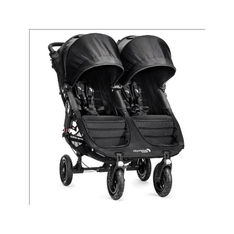 Kočík pre dvojičky Baby Jogger CITY MINI GT 2016 Black + Doprava zadarmo