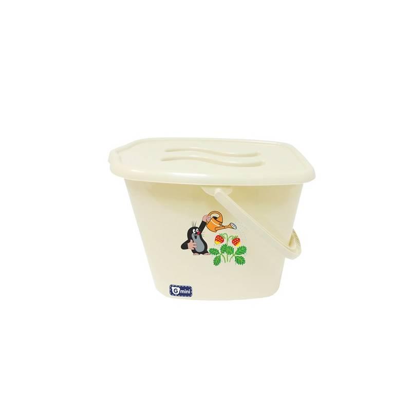 Kôš na plienky G-mini Krtek a jahoda smetanový