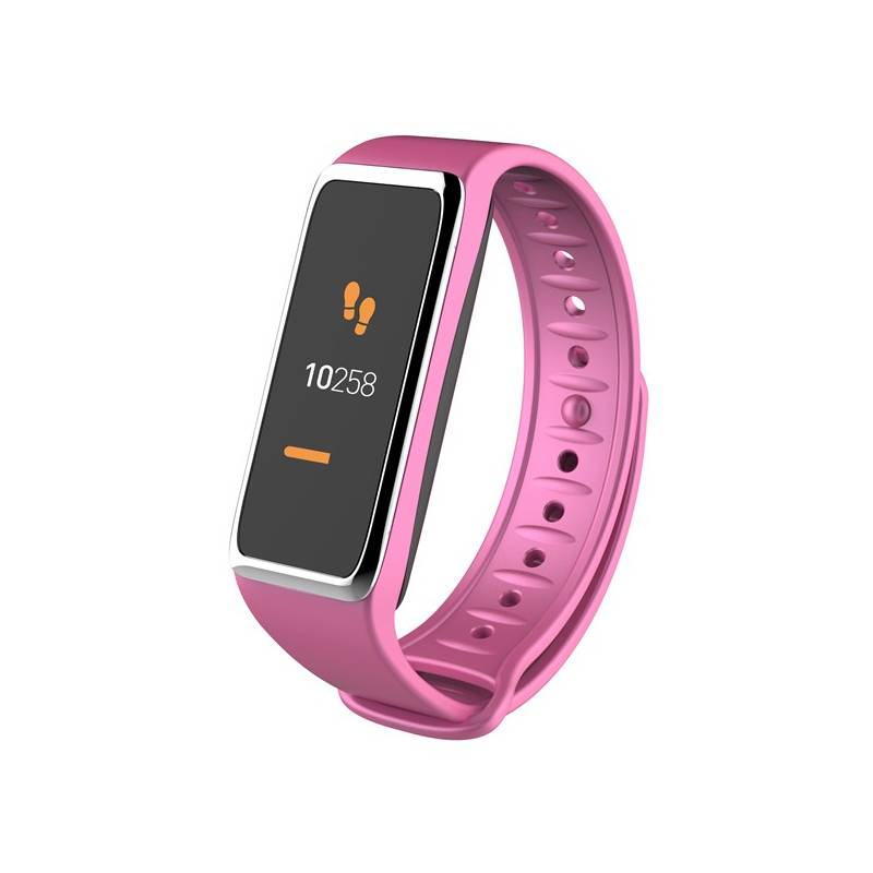 Fitness náramok MyKronoz ZeFit3 (NEHOKRFIT3053) strieborný/ružový