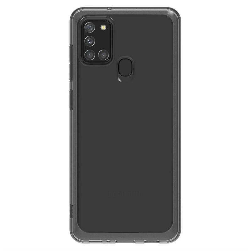 Kryt na mobil Samsung Galaxy A21s (GP-FPA217KDABW) čierny/priehľadný