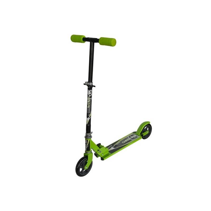 Kolobežka Master Chaos 145 mm zelená + Reflexní sada 2 SportTeam (pásek, přívěsek, samolepky) - zelené v hodnote 2.80 €