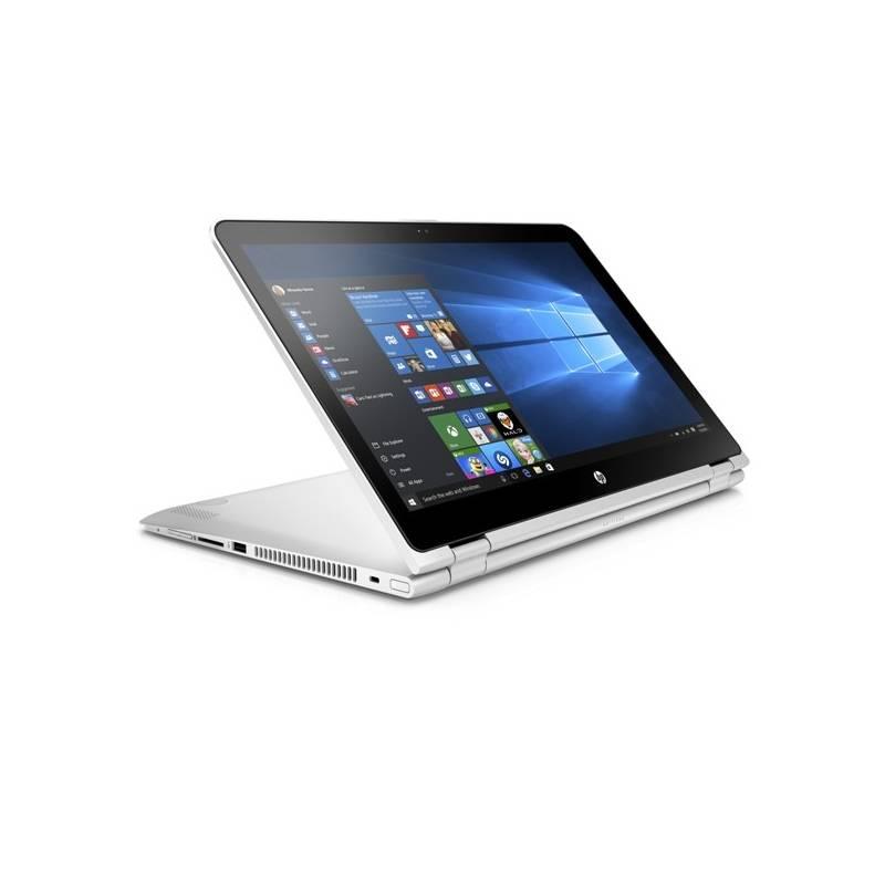 Notebook HP Pavilion x360 15-bk004nc (W7T25EA#BCM) strieborný + Doprava zadarmo