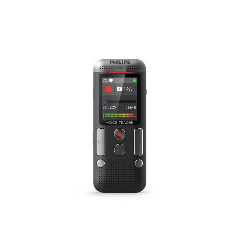 Diktafón Philips DVT2510 čierny