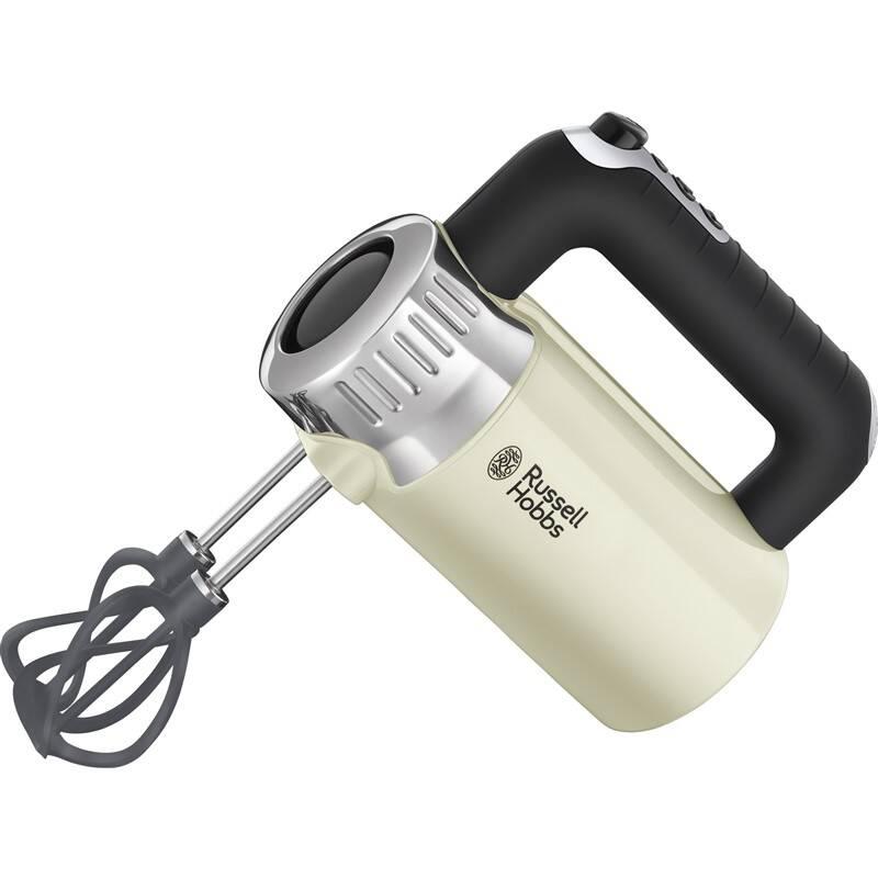 Ručný šľahač RUSSELL HOBBS RETRO 25202-56 Hand Mixer Cream + Doprava zadarmo