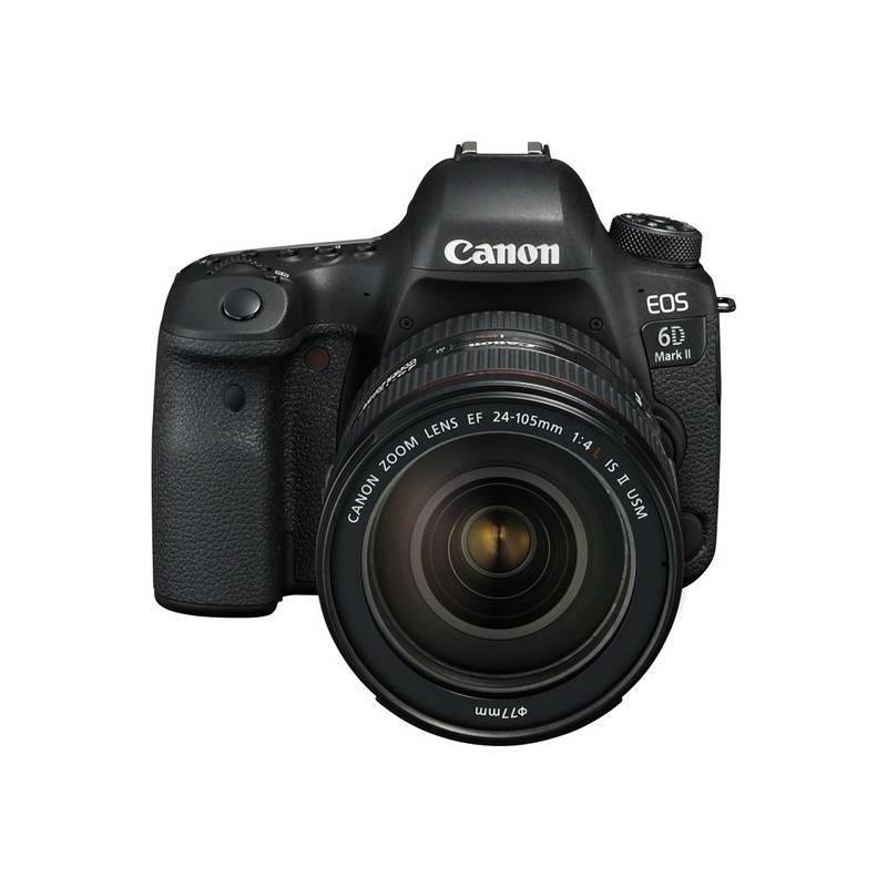 Digitálny fotoaparát Canon EOS 6D Mark II + EF24-105 IS STM čierny + Doprava zadarmo