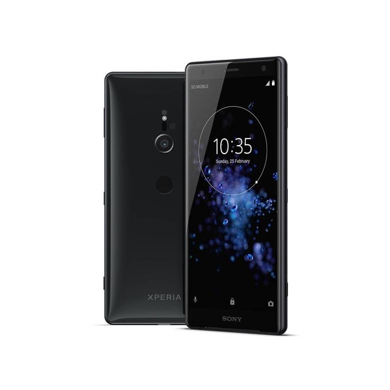 Mobilný telefón Sony Xperia XZ2 (1313-8195) čierny Software F-Secure SAFE, 3 zařízení / 6 měsíců (zdarma) + Doprava zadarmo