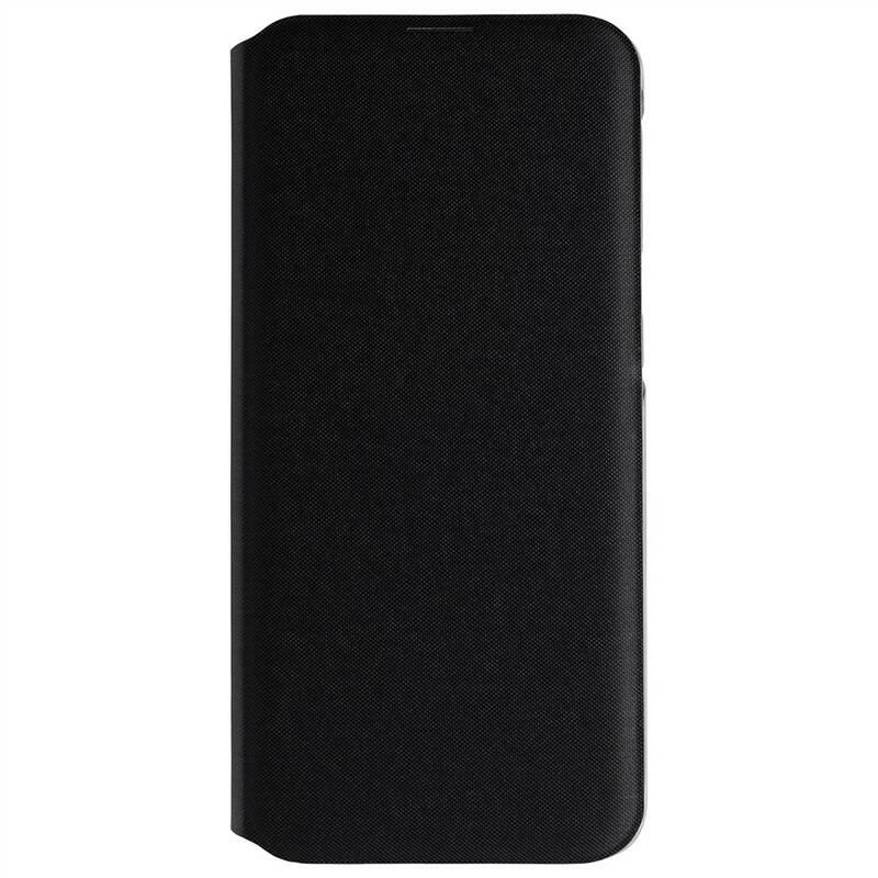 Púzdro na mobil flipové Samsung Wallet Cover na Galaxy A20e (EF-WA202PBEGWW) čierne