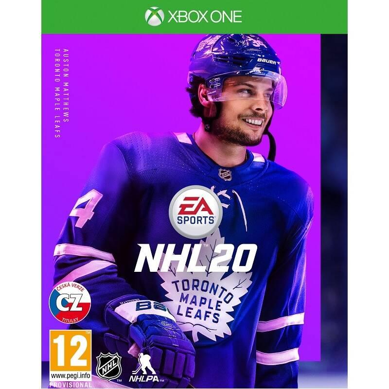 Hra EA Xbox One NHL 20 (EAX354551) + Doprava zadarmo