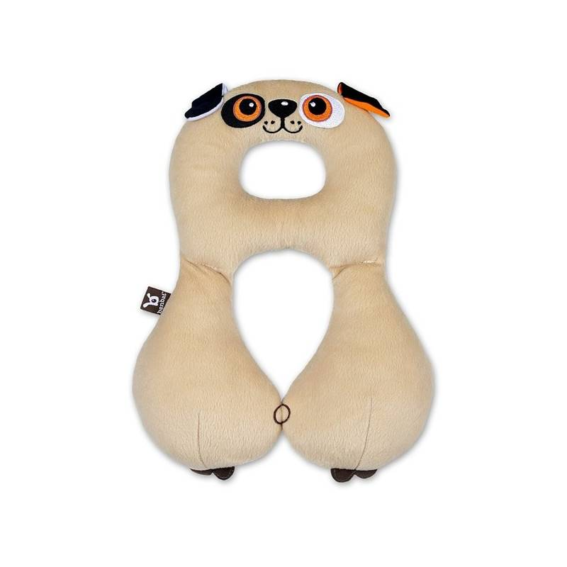 486d8cd3e10 Dětský nákrčník s opěrkou hlavy BenBat 4-8 let - pes hnědý. 1 uživatelská  recenze