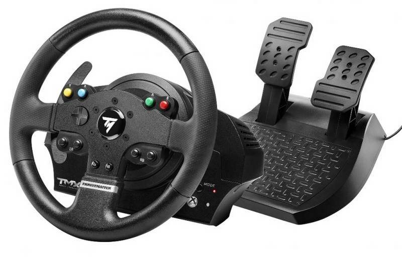 Volant Thrustmaster TMX Force pro Xbox ONE, PC + pedály (4460136) čierny