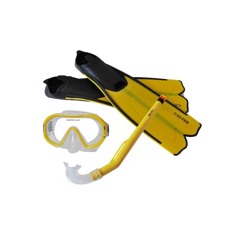 Sada na potápanie Calter Kids S06+M168+F41 PVC žltý + Doprava zadarmo