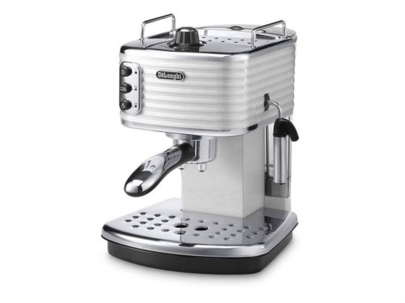 Espresso DeLonghi Scultura ECZ351W biele