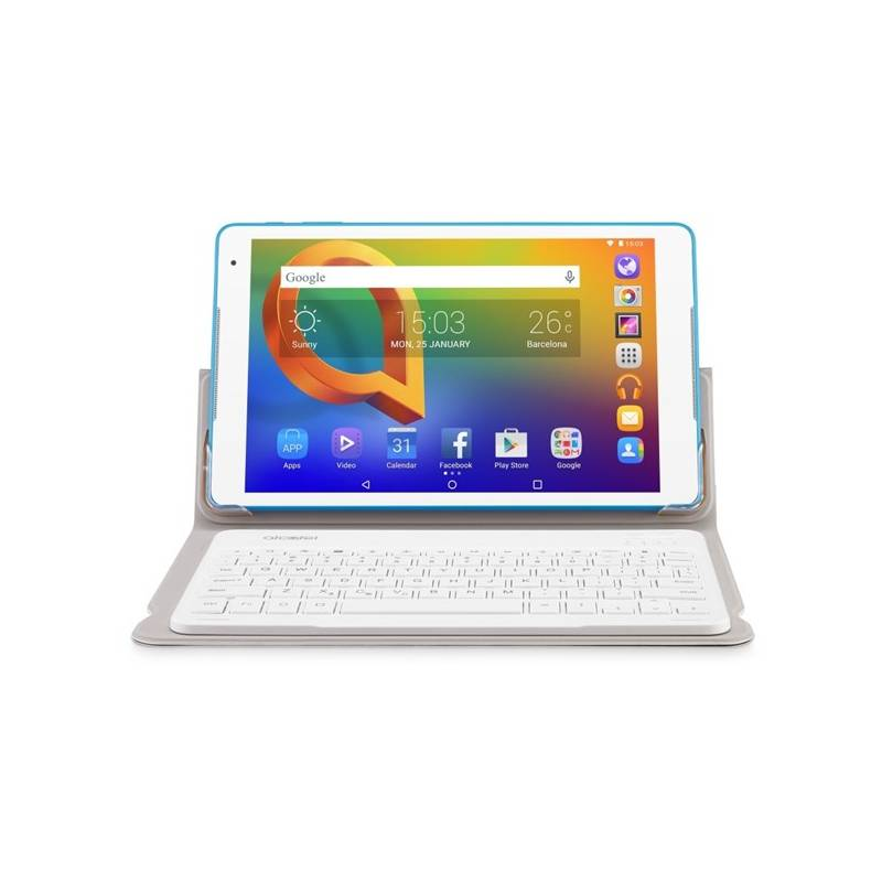 """Tablet ALCATEL A3 10"""" Wi-Fi 8079 + klávesnice (8079-2DALE15-3 ) biely"""