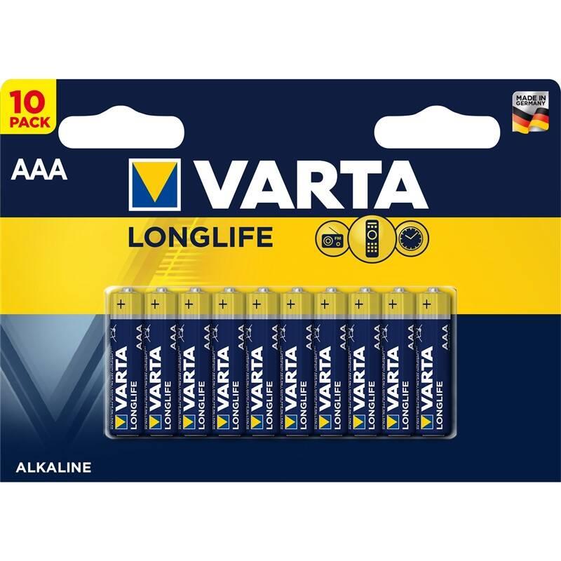Batéria alkalická Varta Longlife AAA, LR03, blistr 10ks (4103101461)