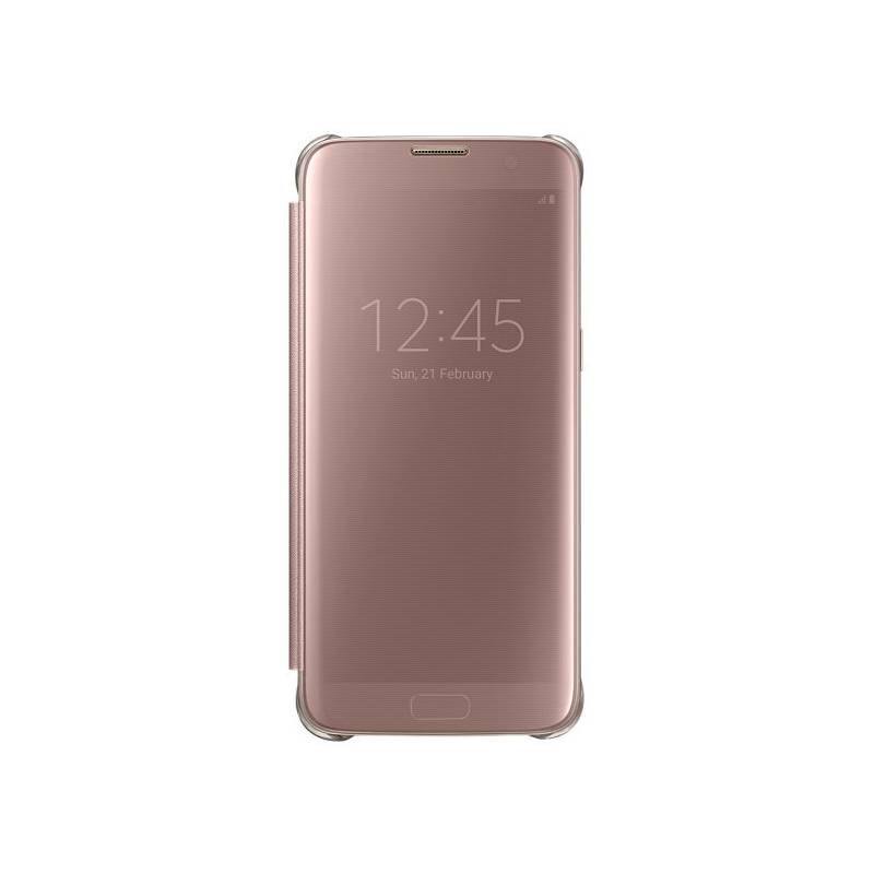 Puzdro na mobil flipové Samsung Clear View pro Galaxy S7 Edge (EF-ZG935CZ) ( EF-ZG935CZEGWW) ružové 5a28cc1489b