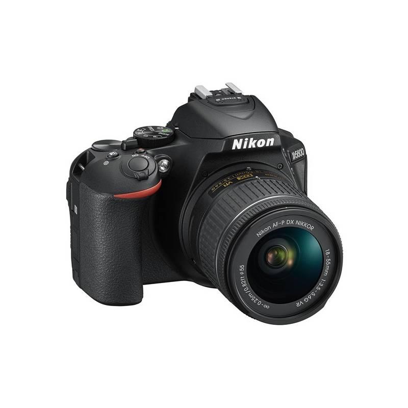 Digitálny fotoaparát Nikon D5600 + 18-55 AF-P VR (VBA500K001) čierny Dalekohled Nikon 8×21 Aculon T01, bílý (zdarma) + Cashback 100 € + Doprava zadarmo